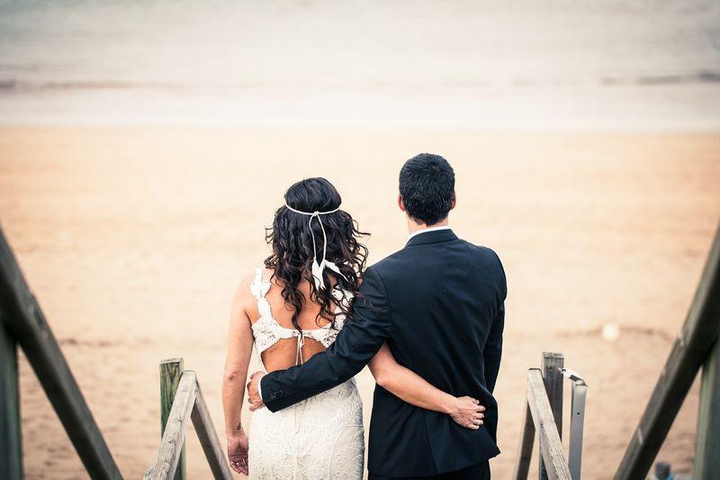 La boda surfera de Mery y Javi