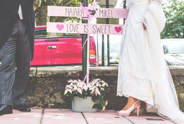 La dulce boda de Naiara y Mikel