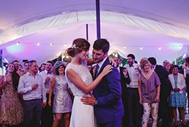 La elegante boda otoñal de A&J