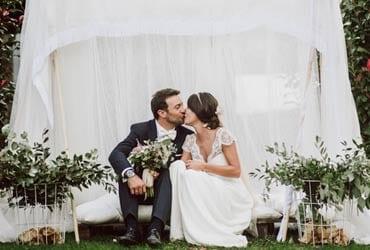 La mágica boda de Myriam y Egoi