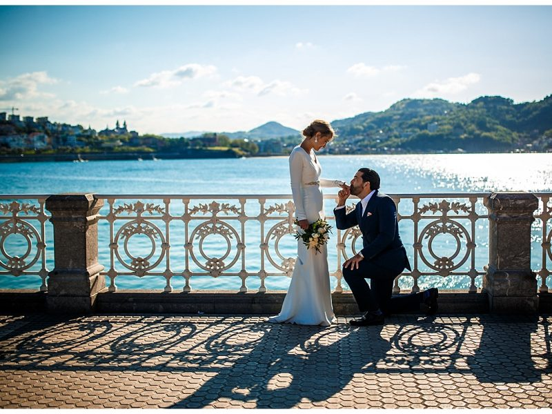 The most romantic elopement ever in San Sebastian