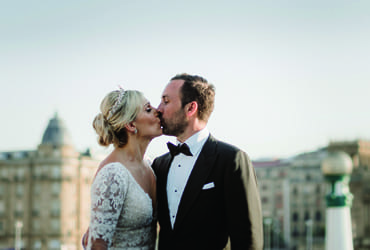 Sophisticated wedding in San Sebastian