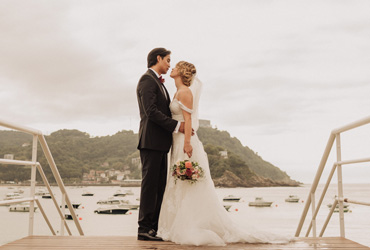 Fall wedding in San Sebastian